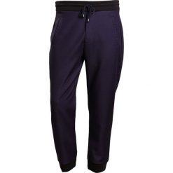Spodnie dresowe męskie: Falke Spodnie treningowe navy
