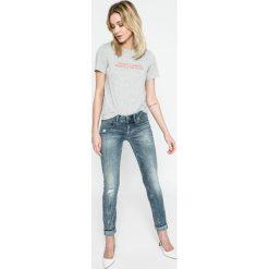G-Star Raw - Jeansy Lynn. Niebieskie jeansy damskie rurki G-Star RAW, z bawełny. Za 659,90 zł.