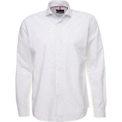 Koszule męskie na spinki: Cortefiel LONG SLEEVE PRINT SLOANE COLLAR Koszula white