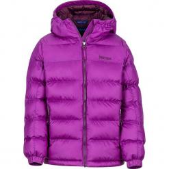 """Kurtka zimowa """"Cirque Featherless"""" w kolorze fioleowym. Fioletowe kurtki dziewczęce zimowe marki Jack Wolfskin, z hardshellu. W wyprzedaży za 257,95 zł."""