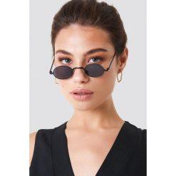 NA-KD Accessories Okulary przeciwsłoneczne mini - Black. Czarne okulary przeciwsłoneczne damskie aviatory NA-KD Accessories, owalne. Za 80,95 zł.