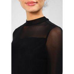 Sukienki hiszpanki: Object OBJCZECH L/S HIGH NECK MIDI DRESS A PA Sukienka koktajlowa black