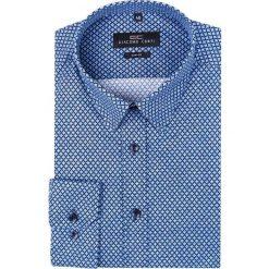 Koszula SIMONE KDWS000212. Szare koszule męskie na spinki Giacomo Conti, m, z bawełny, z klasycznym kołnierzykiem. Za 199,00 zł.