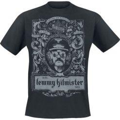 Motörhead Lemmy Crest T-Shirt czarny. Czarne t-shirty męskie Motörhead, xl. Za 74,90 zł.