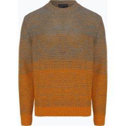 Nils Sundström - Sweter męski, szary. Szare swetry klasyczne męskie Nils Sundström, l, w gradientowe wzory. Za 249,95 zł.