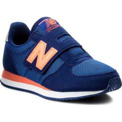 Trampki chłopięce: Sneakersy NEW BALANCE – KV220BOY Granatowy