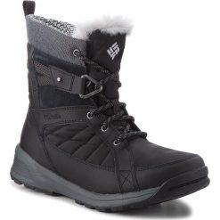 Śniegowce COLUMBIA - Meadows Shorty Omni-Heat 3D BL5966 Black/Steam 010. Czarne buty zimowe damskie Columbia, z materiału. Za 499,99 zł.