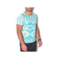T-shirt Chimalli. Niebieskie t-shirty męskie z nadrukiem marki beYOUnique, s. Za 97,00 zł.