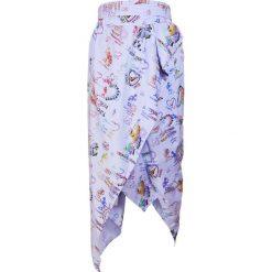 Długie spódnice: Vivienne Westwood Anglomania Długa spódnica blau