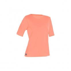 Koszulka UV krótki rękaw WATER T SHIRT damska. Czerwone bralety marki OLAIAN, s, z materiału. Za 19,99 zł.