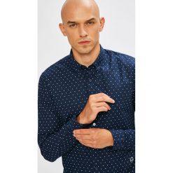 Scotch & Soda - Koszula. Szare koszule męskie na spinki marki S.Oliver, l, z bawełny, z włoskim kołnierzykiem, z długim rękawem. W wyprzedaży za 239,90 zł.