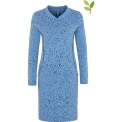 """Sukienki hiszpanki: Sukienka """"Gwen"""" w kolorze niebieskim"""