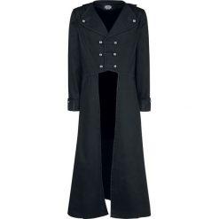 Płaszcze przejściowe męskie: H&R London Classic Military Coat Płaszcz czarny