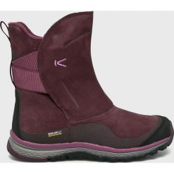 Keen - Śniegowce Winterterra Lea Boot. Brązowe śniegowce damskie Keen, z materiału. Za 599,90 zł.