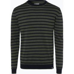 Minimum - Sweter męski – Gottlieb, zielony. Szare swetry klasyczne męskie marki TOMMY HILFIGER, l, z bawełny, z okrągłym kołnierzem. Za 199,95 zł.