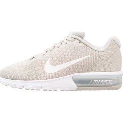Buty do biegania damskie: Nike Performance AIR MAX SEQUENT 2 Obuwie do biegania treningowe pale grey/sail/light bone/sunset tint/metallic silver/volt