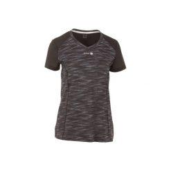 Koszulka tenisowa Soft 500 damska. Czarne t-shirty damskie marki ARTENGO, z elastanu. W wyprzedaży za 24,99 zł.