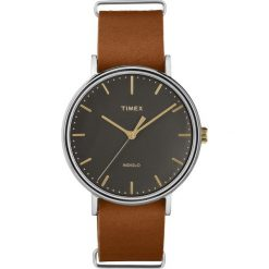 Timex - Zegarek TW2P97900. Czarne zegarki męskie marki Fossil, szklane. W wyprzedaży za 249,90 zł.