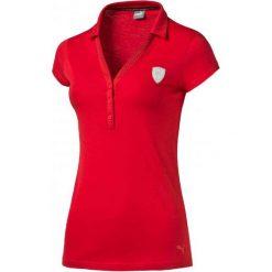 Bluzki sportowe damskie: Puma Koszulka Damska Ferrari Polo Rosso Corsa Xxs