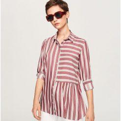 Koszula w paski - Fioletowy. Fioletowe koszule damskie Reserved, w paski. Za 99,99 zł.