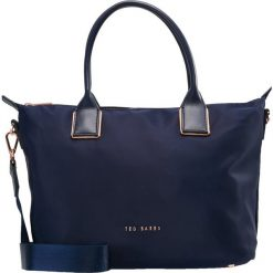 Ted Baker SMALL TOTE Torebka dark blue. Czarne torebki klasyczne damskie marki Ted Baker, z materiału. Za 439,00 zł.