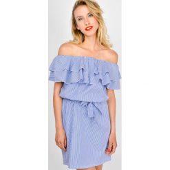Sukienki: Sukienka hiszpanka w paski