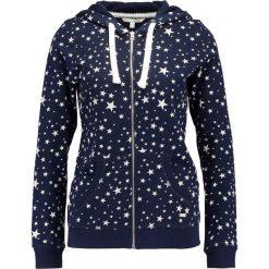 Bluzy rozpinane damskie: TOM TAILOR DENIM PLATZIERTER DRUCK  Bluza rozpinana real navy blue