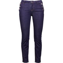 2nd Day SALLY CROPPED SAILOR Jeansy Slim Fit dark blue. Niebieskie jeansy damskie relaxed fit 2nd Day, z bawełny. Za 599,00 zł.