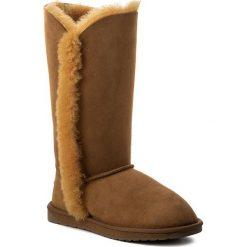 Buty EMU AUSTRALIA - Platinum Kolora WP10534 Mustard. Brązowe buty zimowe damskie EMU Australia, ze skóry. W wyprzedaży za 479,00 zł.