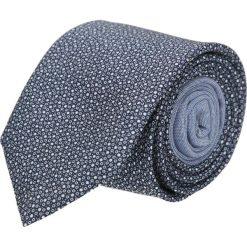 Krawat winman granatowy classic 202. Niebieskie krawaty męskie Recman, z aplikacjami, z bawełny, klasyczne. Za 129,00 zł.