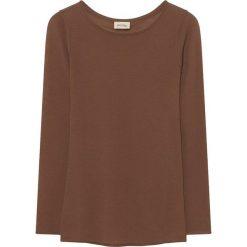 Sweter w kolorze brązowym. Brązowe swetry oversize damskie American Vintage, z wełny. W wyprzedaży za 215,95 zł.