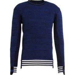 Swetry klasyczne męskie: Diesel Black Gold KOLLAY  Sweter blue