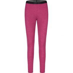 Legginsy sportowe damskie: Sportowe legginsy w kolorze różowym