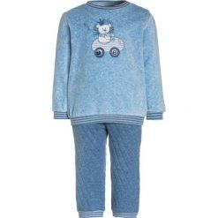 Kanz LAYETTE LION KING 1/1 ARM BABY Bluza blue melange. Niebieskie bluzy dziewczęce Kanz, z bawełny. Za 129,00 zł.