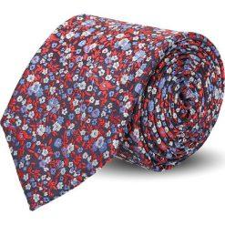 Krawaty męskie: krawat platinum bordo classic 226