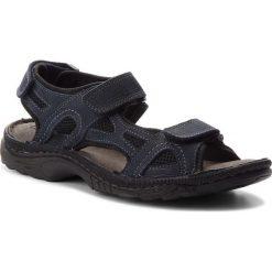 Sandały LASOCKI FOR MEN - MI20-TIS-01 Granatowy. Niebieskie sandały męskie skórzane Lasocki For Men. W wyprzedaży za 99,99 zł.