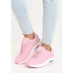 Różowe Buty Sportowe Hot Days. Czerwone buty sportowe damskie Born2be, z materiału. Za 69,99 zł.