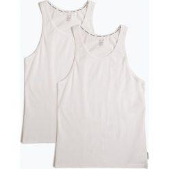 Calvin Klein - Podkoszulki męskie pakowane po 2 sztuki, czarny. Szare podkoszulki męskie marki Astratex, m, z nadrukiem, z bawełny. Za 149,95 zł.