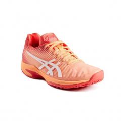 Buty tenisowe Asics Solution Speed Clay damskie na mączkę ceglaną. Różowe buty do tenisu damskie Asics. Za 449,99 zł.