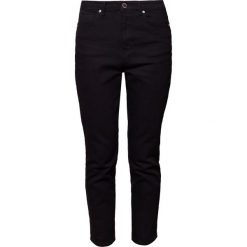 Boyfriendy damskie: 2nd Day CROPPED REX Jeansy Slim Fit black