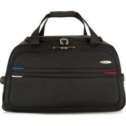 Torba podróżna V25-10-478-10. Czarne torby podróżne Wittchen, z materiału. Za 219,00 zł.