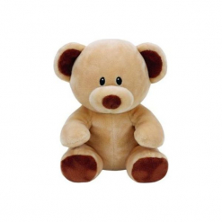 Maskotka TY INC Baby Ty  Bundles- Brązowy miś. Brązowe przytulanki i maskotki marki TY INC, z materiału. Za 24,99 zł.
