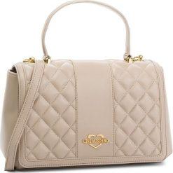 Torebka LOVE MOSCHINO - JC4007PP16LA0108  Tortora. Brązowe torebki klasyczne damskie marki Love Moschino, ze skóry ekologicznej, duże. Za 929,00 zł.