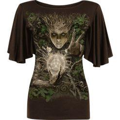 Bluzki damskie: Spiral Oak Princess Koszulka damska brązowy
