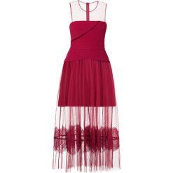 Three Floor ONDINE Długa sukienka purple. Fioletowe długie sukienki Three Floor, z elastanu, wizytowe, z długim rękawem. Za 999,00 zł.