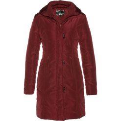 Płaszcz pikowany bonprix czerwony kasztanowy. Czerwone płaszcze damskie bonprix. Za 189,99 zł.