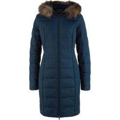 Płaszcze damskie pastelowe: Lekki płaszcz puchowy pikowany bonprix ciemnoniebieski
