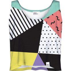 Colour Pleasure Koszulka damska CP-035 24 biało-czarna r. XS-S. Fioletowe bluzki damskie marki Colour pleasure, uniwersalny. Za 64,14 zł.