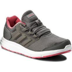 Buty adidas - Galaxy 4 W CP8837  Grefou/Reapnk. Czarne buty do biegania damskie marki Adidas, z kauczuku. W wyprzedaży za 179,00 zł.