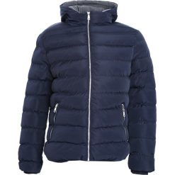 Granatowa Kurtka Autumn Evening. Czarne kurtki męskie pikowane marki Born2be, l, z aplikacjami, z dresówki. Za 169,99 zł.